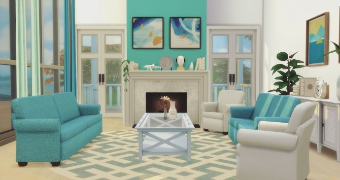 Simmons Living Seating Base Game Edited at Pyszny Design image 1703 670x355 Sims 4 Updates