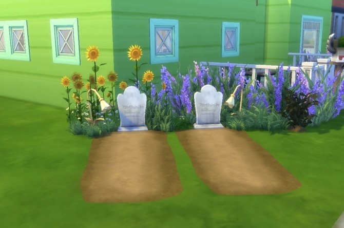 Sims 4 A Grave Most Grave by EmilitaRabbit at Mod The Sims
