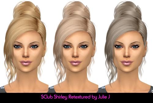 Sims 4 S Club Shirley Hair Retextured at Julietoon – Julie J