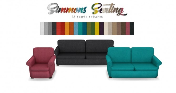 Simmons Living Seating Base Game Edited at Pyszny Design image 1724 670x355 Sims 4 Updates