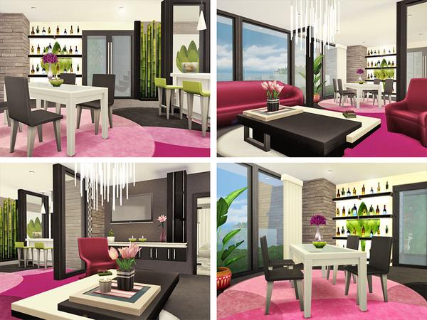 Tona house by Rirann at TSR image 1725 Sims 4 Updates