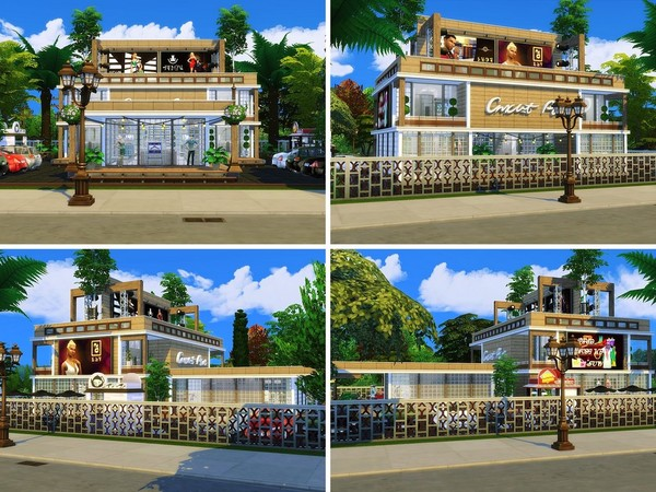 Luxury Clothes Shop by MychQQQ at TSR image 1729 Sims 4 Updates