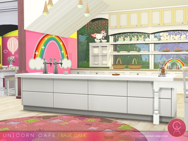 Unicorn Cafe by Pralinesims at TSR image 173 Sims 4 Updates