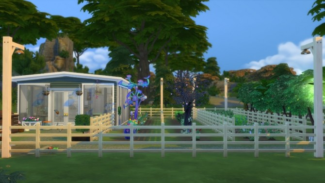 Sims 4 Garden Shed by SuperLisa at Mod The Sims