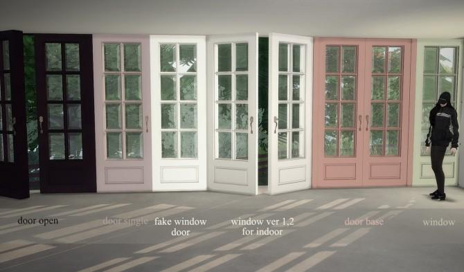 Yogurt Doors & Windows Set at YUMIA'S PLACE image 1741 670x393 Sims 4 Updates