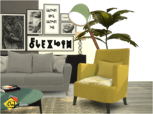 Dolce Living Room by Onyxium at TSR image 1760 Sims 4 Updates