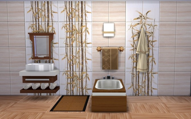 Bamboo Tile&Floor at ihelensims image 1774 670x420 Sims 4 Updates