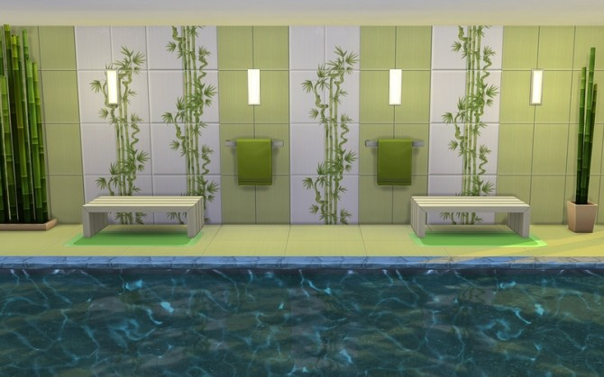 Bamboo Tile&Floor at ihelensims image 1784 670x419 Sims 4 Updates