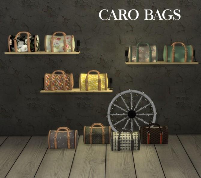 Sims 4 Caro Bag at Leo Sims