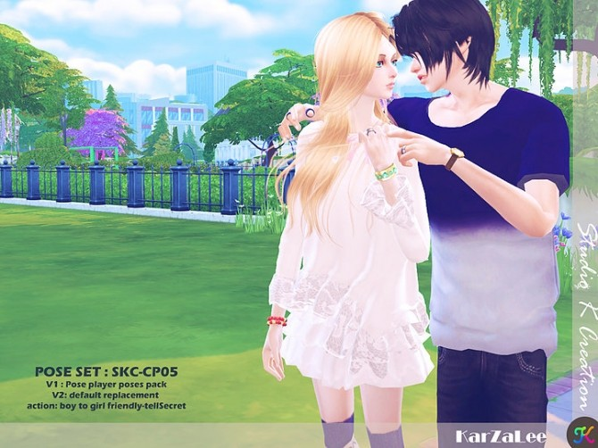 Couple Pose Set CP05 at Studio K Creation image 182 670x502 Sims 4 Updates