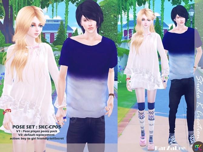 Sims 4 Couple Pose Set CP05 at Studio K Creation