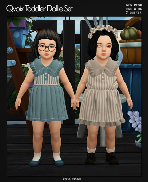 Sims 4 Dollie Set T at qvoix – escaping reality