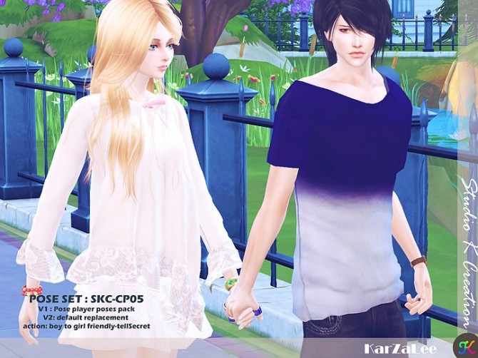 Couple Pose Set CP05 at Studio K Creation image 184 670x502 Sims 4 Updates