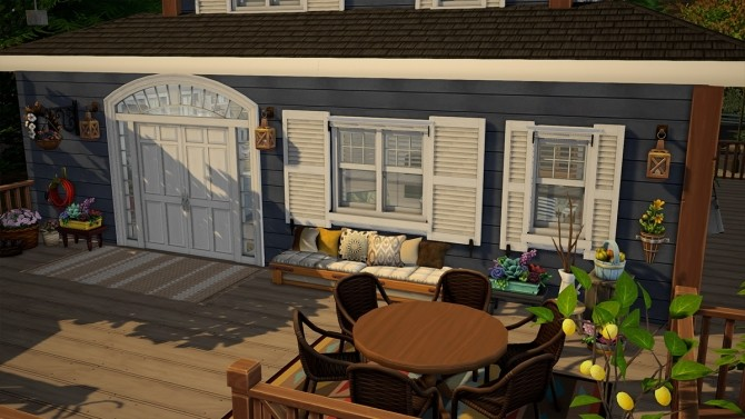 Blue Beach House Furnished at Dream Team Sims image 1841 670x377 Sims 4 Updates