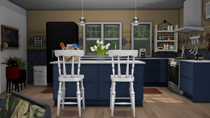 Blue Beach House Furnished at Dream Team Sims image 1851 670x377 Sims 4 Updates