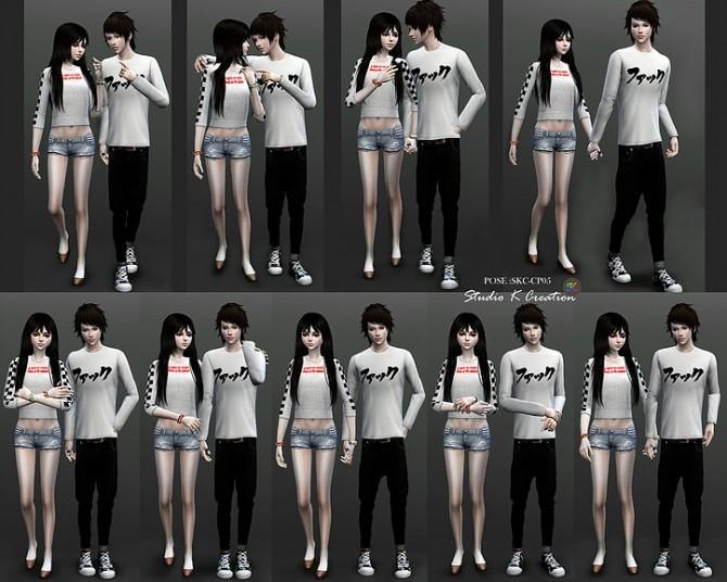 Couple Pose Set CP05 at Studio K Creation image 186 670x536 Sims 4 Updates