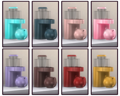 Sims 4 RC Tea Machine 2.0 at CappusSims4You