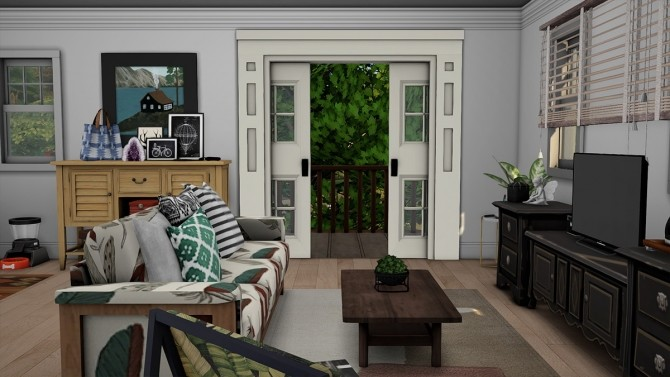Blue Beach House Furnished at Dream Team Sims image 1881 670x377 Sims 4 Updates