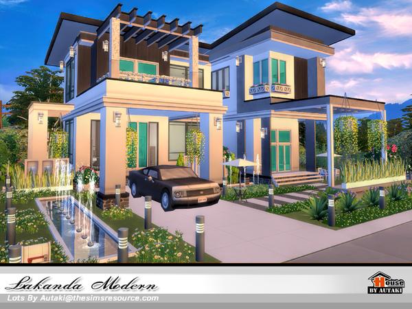 Lakanda Modern house by autaki at TSR image 19 Sims 4 Updates