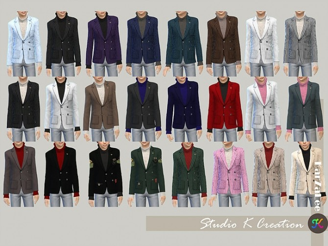 Giruto 30 Blazers Suit Jackets for child at Studio K Creation image 1902 670x502 Sims 4 Updates