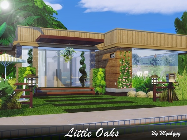 Little Oaks home by MychQQQ at TSR image 1915 Sims 4 Updates