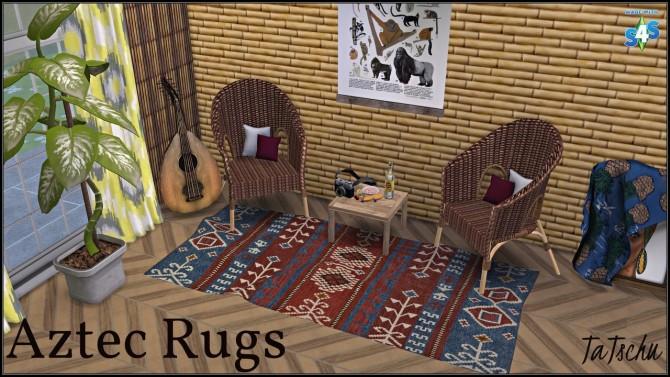 Sims 4 Jungle Adventure Rugs at TaTschu`s Sims4 CC