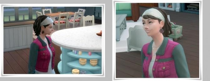 Sims 4 Mia's Bang&Band hair at Birksches Sims Blog