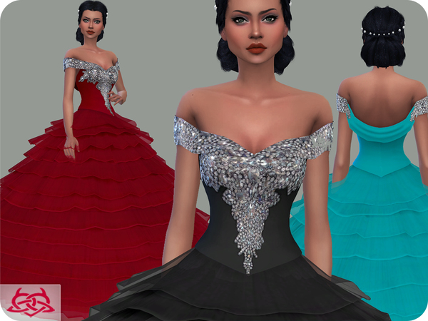 Wedding Dress 17 by Colores Urbanos at TSR image 1940 Sims 4 Updates