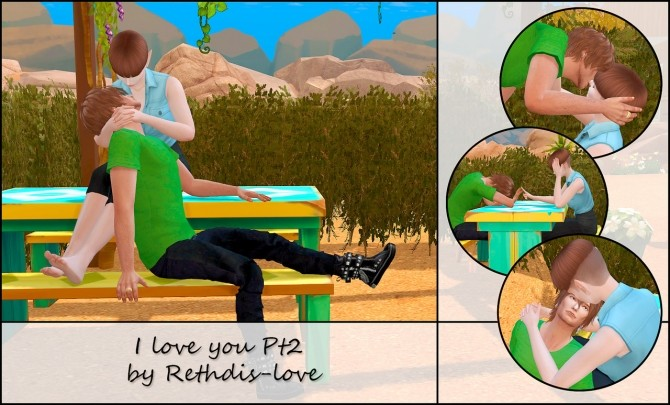 I love you Pt2 poses at Rethdis love image 1946 670x405 Sims 4 Updates