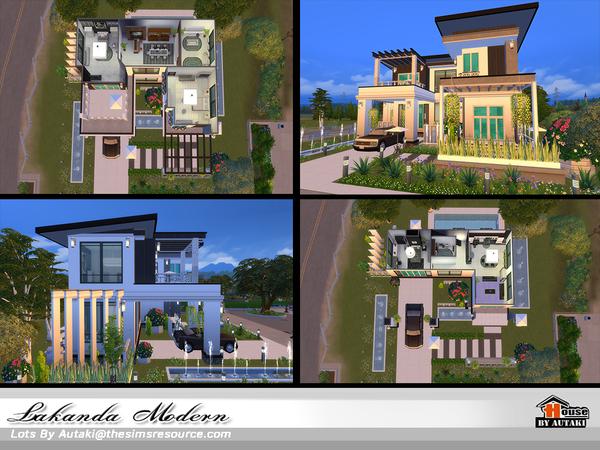 Lakanda Modern house by autaki at TSR image 20 Sims 4 Updates