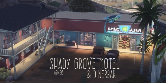 SHADY GROVE MOTEL & DINERBAR at Picture Amoebae image 2002 670x335 Sims 4 Updates