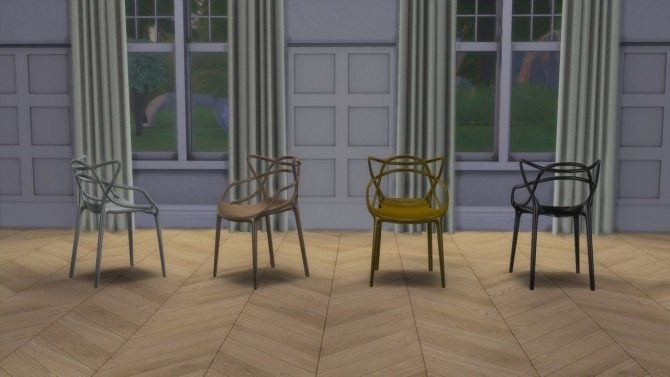 Master Collection (chair + stool) at Meinkatz Creations image 2011 670x377 Sims 4 Updates