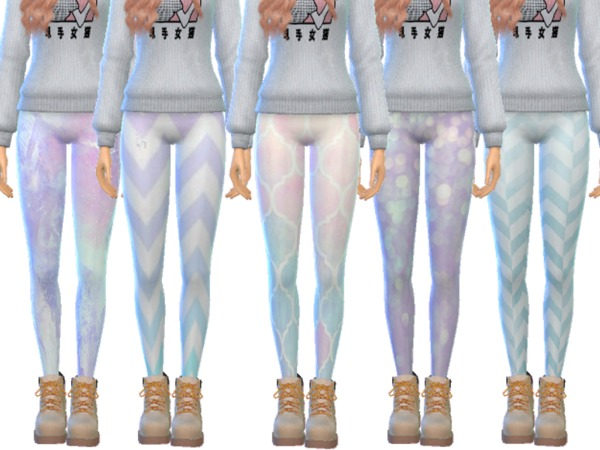 Tumblr Themed Leggings Pack Twelve by Wicked Kittie at TSR image 2036 Sims 4 Updates