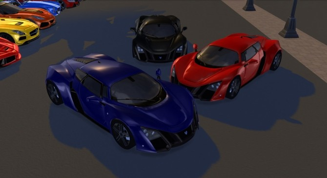 Sims 4 2009 Marussia B2 at Tyler Winston Cars