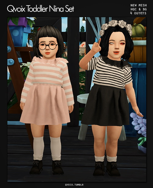 Sims 4 Minho Glasses Set at qvoix – escaping reality