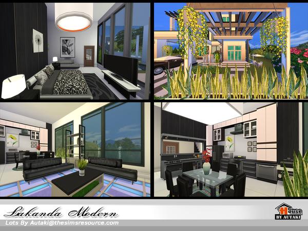 Lakanda Modern house by autaki at TSR image 21 Sims 4 Updates