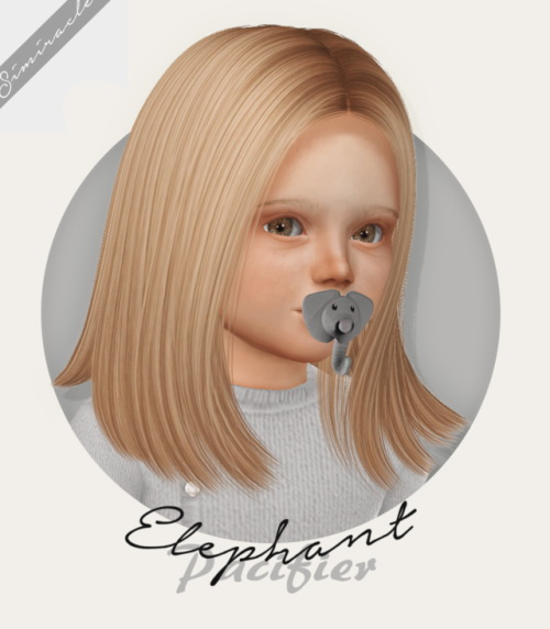 Elephant Pacifier 3T4 at Simiracle image 211 Sims 4 Updates