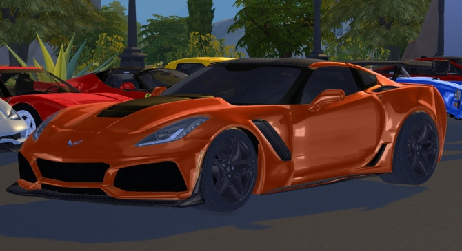 2019 Chevrolet Corvette ZR1 at Tyler Winston Cars » Sims 4 ...