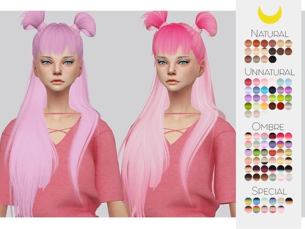 Sims 4 Hair Retexture 39 LeahLilliths Nefarious by Kalewa a at TSR