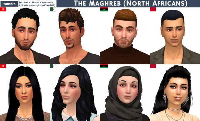 The Maghreb (North Africans) at The Sims 4 Middle Easterners & South Asians image 217 670x404 Sims 4 Updates