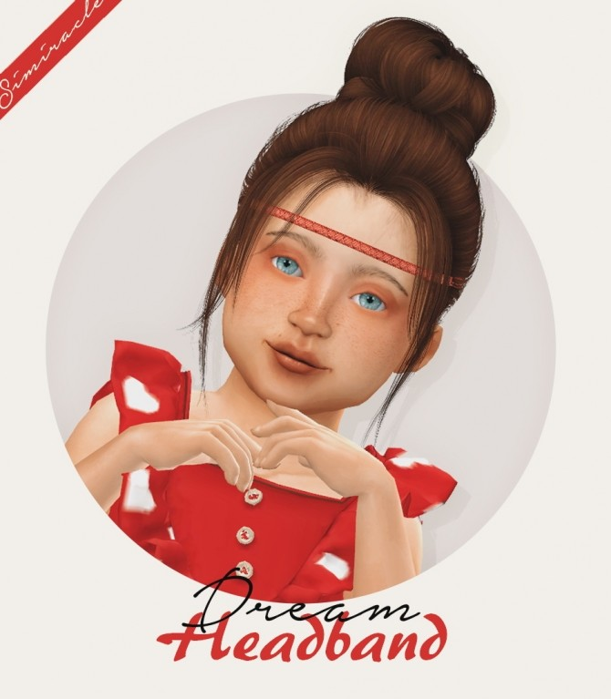 Dream Headband Toddler Version 3T4 at Simiracle image 2182 670x767 Sims 4 Updates