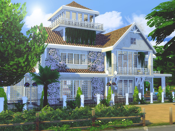 Magnolia Avenue house by MychQQQ at TSR image 2219 Sims 4 Updates