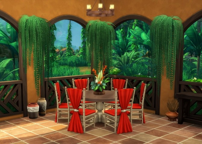 Indoor Hanging Ferns at Omorfi Mera image 222 670x477 Sims 4 Updates