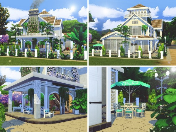 Magnolia Avenue house by MychQQQ at TSR image 2312 Sims 4 Updates