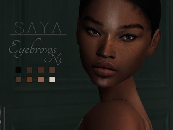 Eyebrows N3 by SayaSims at TSR image 2318 Sims 4 Updates