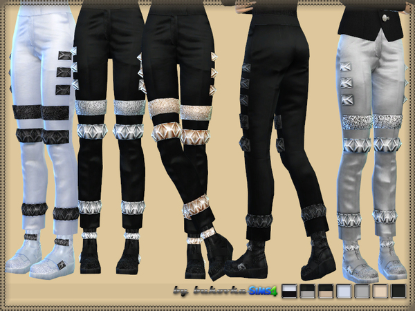 Sims 4 Pants Future by bukovka at TSR