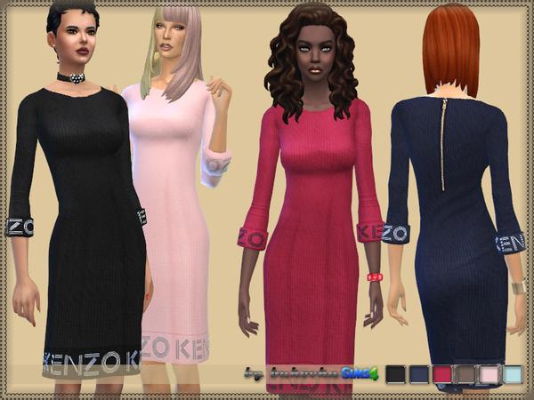 Medium length dress by bukovka at TSR image 237 Sims 4 Updates
