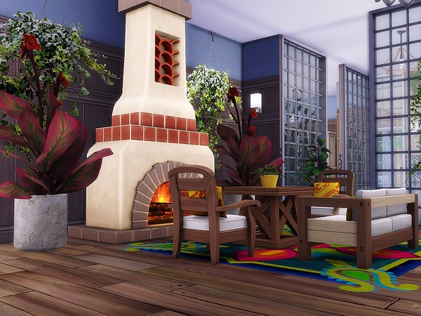 Magnolia Avenue house by MychQQQ at TSR image 2411 Sims 4 Updates