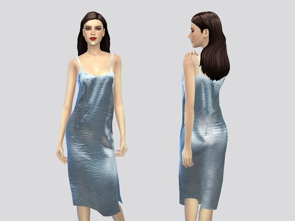 Ava dress by April at TSR image 2413 Sims 4 Updates