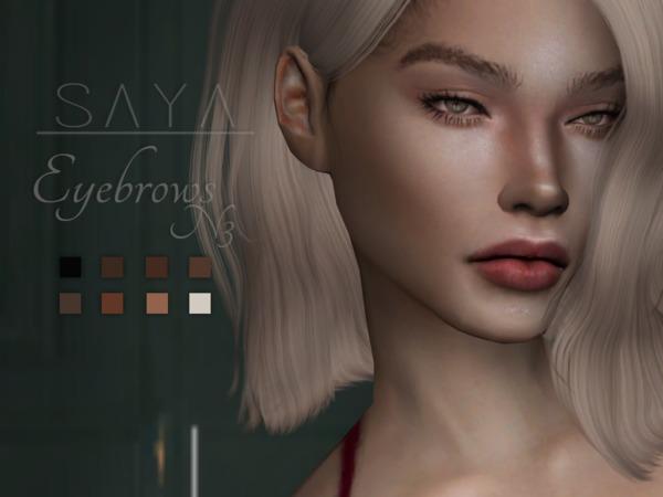 Eyebrows N3 by SayaSims at TSR image 2417 Sims 4 Updates